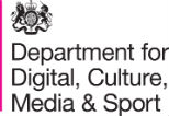 Department for Digital, Culture, Media and Sport